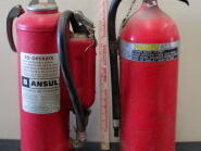 2 Fire Extinguishers