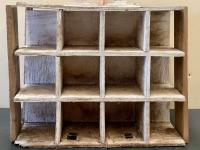 Wood Cubby Crate