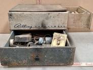 Vintage Garage Hardware Cabinet