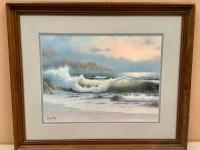 Framed Seascape Print - Larry Prellop