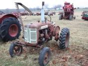 International 130 Industrial with mounted sickle mower