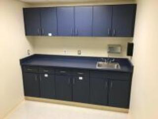 Kitchen Cupboards with Sink