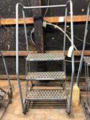 Cotterman Rolling Step Ladder