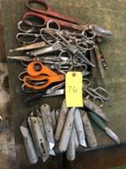 Scissors, Box Cutters