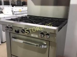 SouthBend 6 burner Range Propane - Very Clean