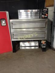 Garland Air Deck Pizza Oven Double Deck Gas