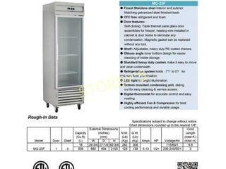KG 23F S S Reach In Freezer