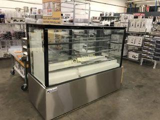KBDC 60 SQ Display Case  Refrigerated Bakery