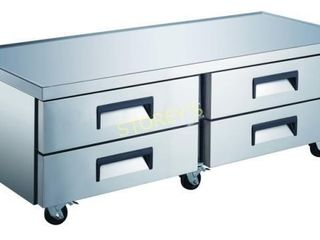 KCB 4D 72 Equipment Stand  Refrigerated Base