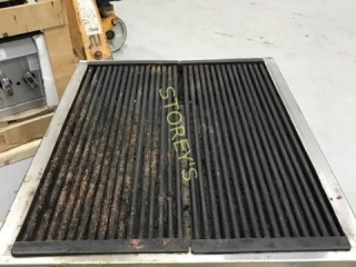 Customer Fabricated Charcoal Grill - Heavy S/S wit