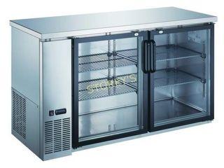 KBB3 7027 Back Bar Cabinet  Refrigerated