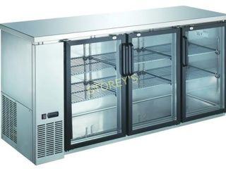 KBB3SG 6024 Back Bar Cabinet  Refrigerated