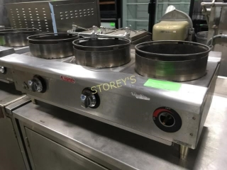 3 Burner Pot Range