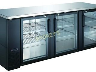 KBB4G 9027 Back Bar Cabinet  Refrigerated