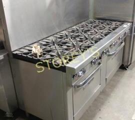 Southbend 12 Burner Gas Range w  Dbl Oven