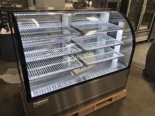 KBDC 60 Curved Display Case  Refrigerated Bakery