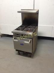 4 Burner Range   Imperial With Oven