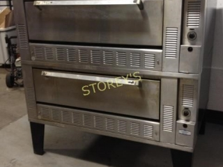 Garland Double Stack Pizza Oven