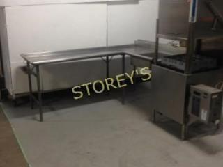 S S Dishwasher Tabling