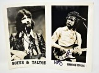 Autographed Boyer & Talton original Capricorn Records Publicity 8x10 photo Autographed by Tommy Talton - Donated by Tommy Talton