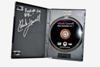 CHUCK LEAVELL HAND AUTOGRAPHED DVD
