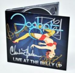 FOGHAT HAND AUTOGRAPHED CD