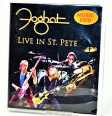 FOGHAT HAND AUTOGRAPHED DVD