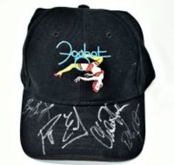 FOGHAT HAND AUTOGRAPHED