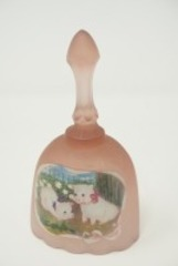FENTON ART GLASS BELL