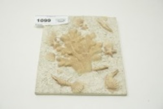 DECORATIVE CORAL TILE
