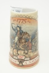 "COLLECTIBLE MILLER ""BIRTH OF A NATION"" STEIN"