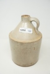 ANTIQUE WHISKEY POTTERY JUG