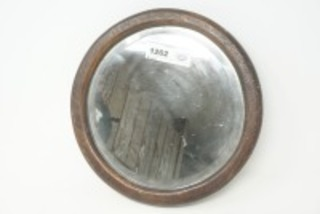ANTIQUE ROUND ADJUSTABLE MARINE WALL MIRROR