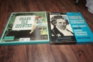 VINTAGE ALBUMS INCLUDING COUNTRY AND CLASSICAL