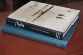 COFFEE TABLE BOOKS, THE HISTORY OF FLIGHT AND THE COMPLETE ILLUSTRATED ENCYCLOPEDIA OF THE WORLD'S AIRCRAFT