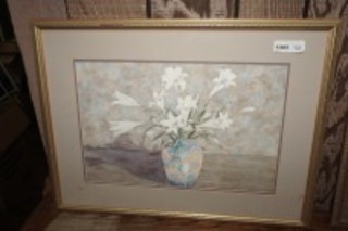FRAMED, MATTED, AND SIGNED ART PRINT, PAVIL WAINMAN