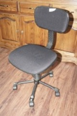 ADJUSTABLE ROLLING OFFICE CHAIR