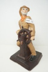 HEAVY SAILOR / FISHERMAN FIGURINE