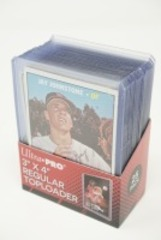 1967 TOPPS BASEBALL CARDS IN HARD PLASTIC COVERS
