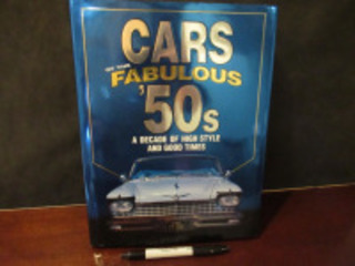 FABULOUS CARS OF THE 50'S BOOK - (BR1)