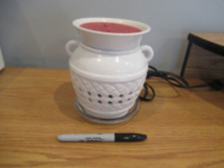PARTYLITE CANDLE WARMER - (LR)
