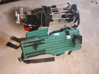 SET OF LEGS SPLINT BRACKETS AND BODY CHEST COMPRESSION SPLINT, RETIRED FIRE AND RESCUE EQUIPMENT