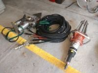 SET OF TWO JAWS OF LIFE AND HOSES, CONDITION UNKNOWN
