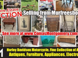 ONLINE ONLY MULTI-ESTATE PERSONAL PROPERTY AUCTION