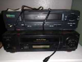 TO VHS RECORDER/PLAYERS, EMERSON AND SONY BRAND