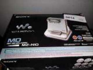 SONY NET MD WALKMAN, MZ/N10, IN ORIGINAL BOX