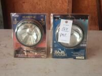Pair of Quartz Halogen Truck Lights