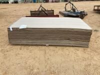 4 x 8 PC Masonite Siding 47 Pcs.