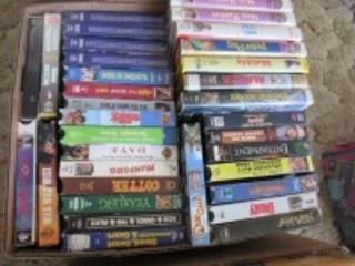 VHS MOVIES -HLR