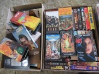 VHS TAPES - HLR